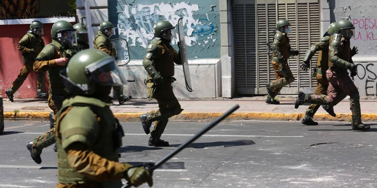 Amnistía Internacional pide investigar a altos mandos de Carabineros