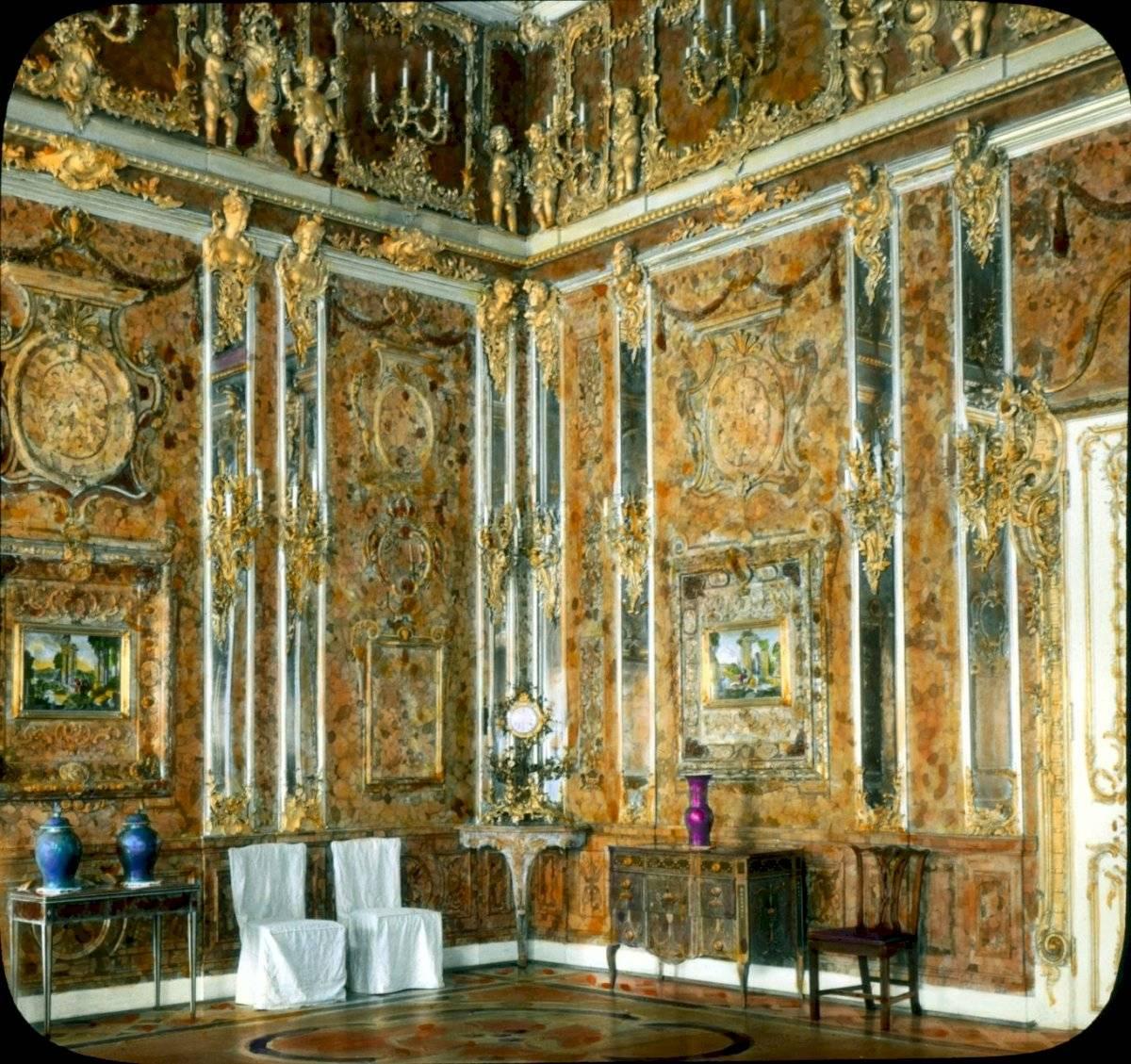 Cámara de Ámbar, un tesoro ruso saqueado por el poderío nazi durante la invasión de 1941.