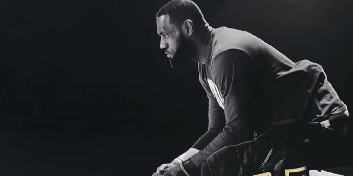 El emotivo mensaje de LeBron a Kobe Bryant