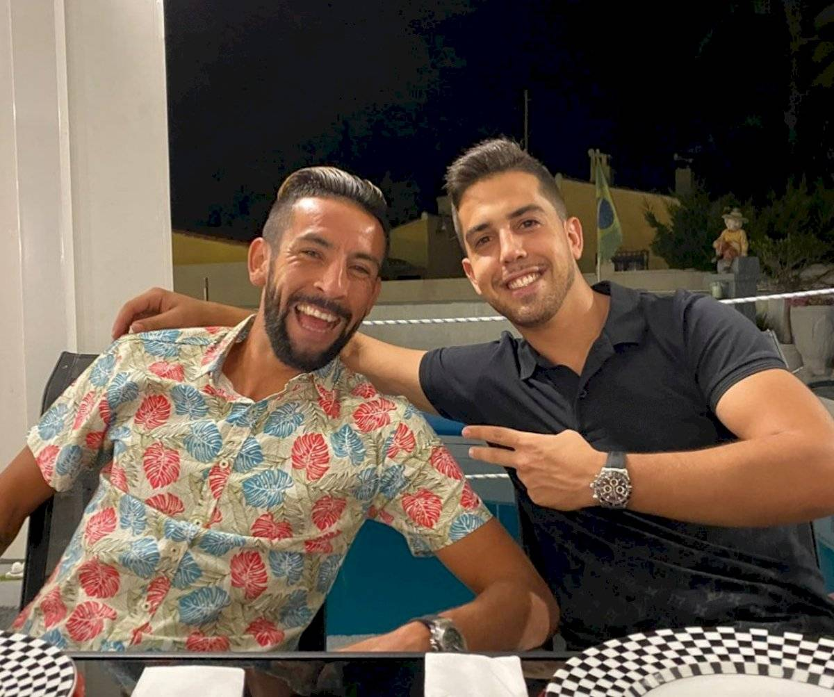 Mauricio Isla y Merlin Caldirola