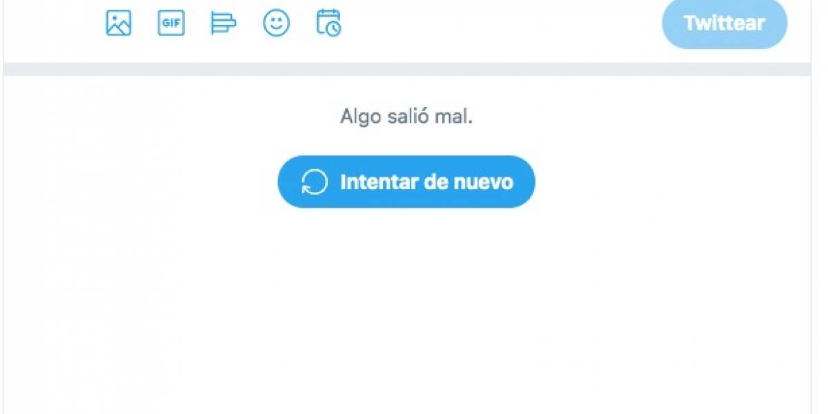 No es tu Internet ¡Se cayó Twitter!