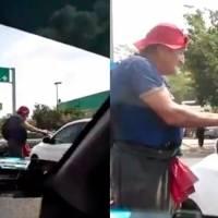 VIDEO: Hombre de la tercera edad pide limosna a punta de pistola en Michoacán