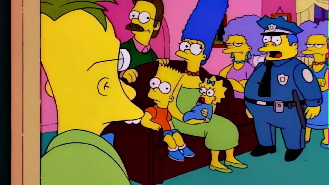 Jefe Gorgory en Los Simpson