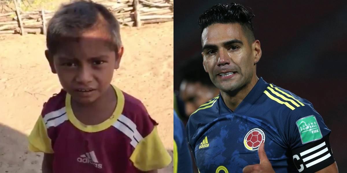 VIDEO | ¡Qué talento! El niño narrador que emocionó y se robó los elogios de Falcao García
