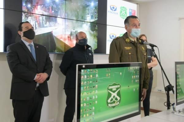 Detienen a 10 personas en allanamientos por ataques a subcomisaría de Peñalolén