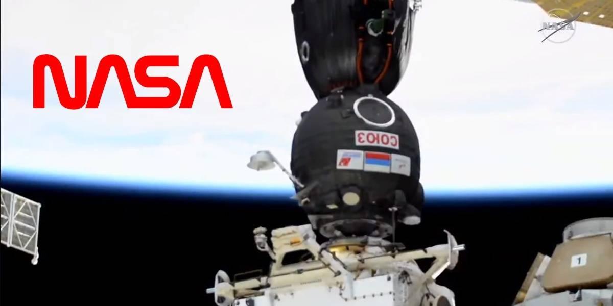 NASA libera espectaculares videos del arribo de Soyuz MS-17 a la Estación Espacial