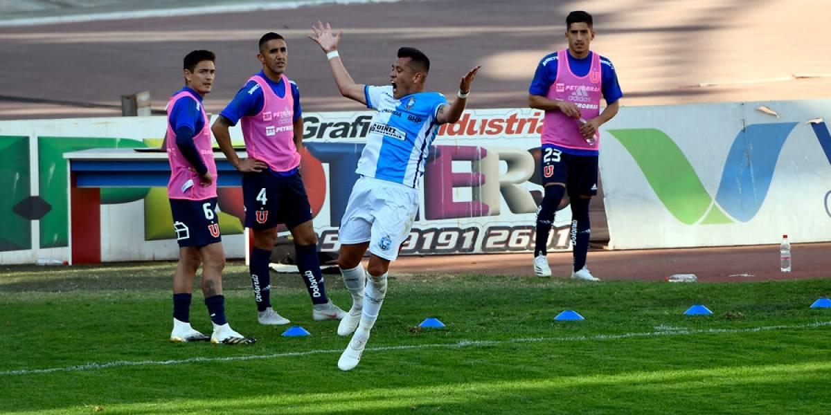 La U mira de lejos la pelea por el título por culpa de Antofagasta y Carlos Muñoz