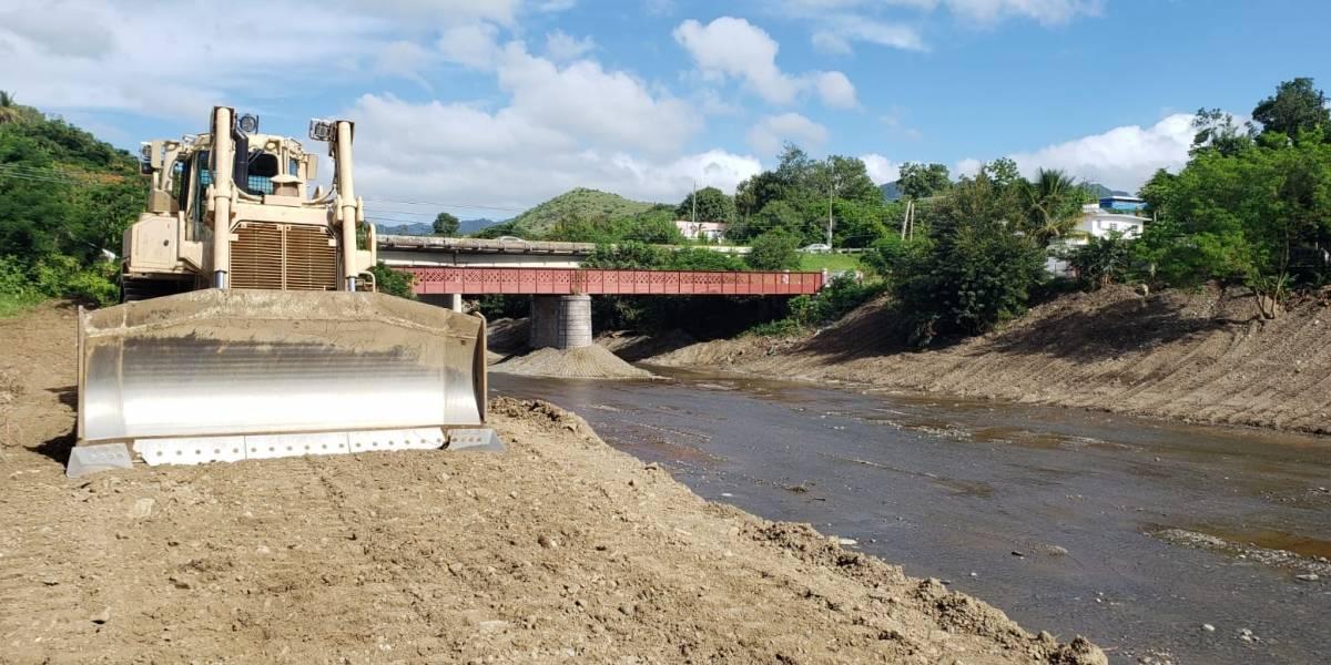 Terminan dragado del Río Coamo, continúan en Yagüez, Guamaní y Dique de Arecibo