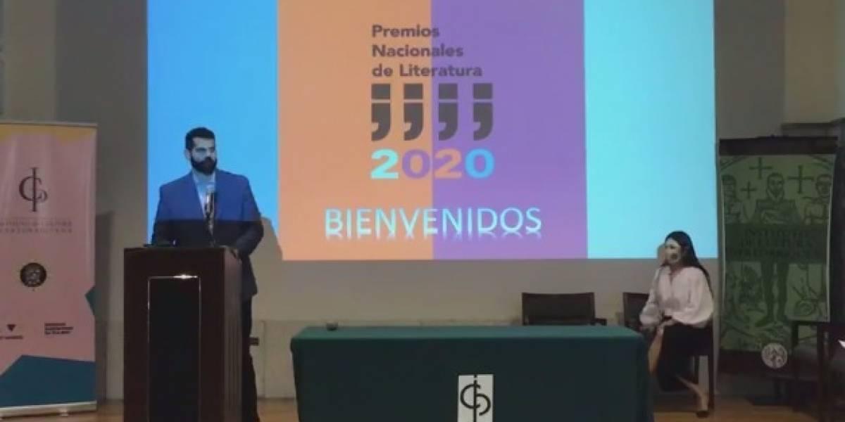 ICP anuncia ganadores de los Premios Nacionales de Literatura 2020
