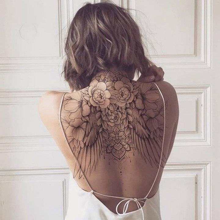 Lleva un lienzo de alas en tu espalda