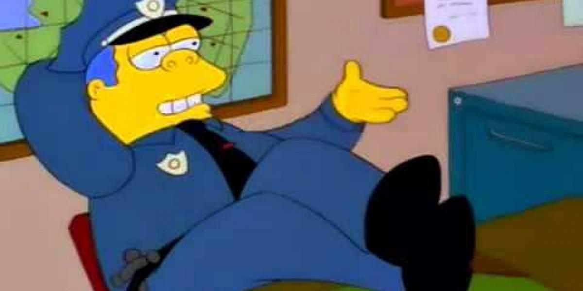 Los Simpson: la comisaría oculta un secreto que pocos han notado