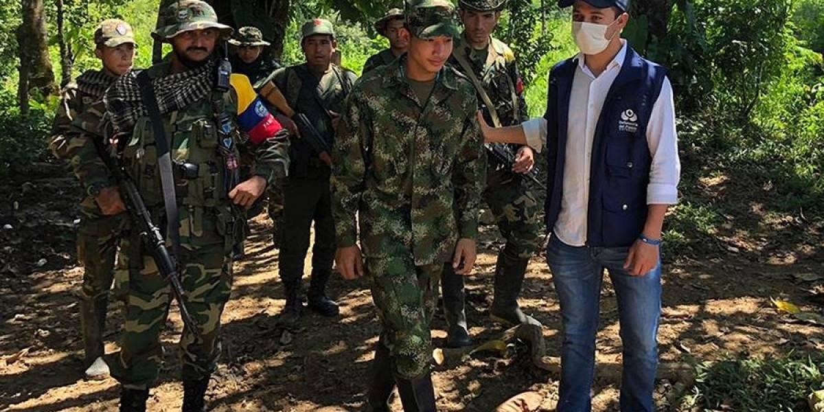 Disidencias de las Farc liberan a soldado secuestrado