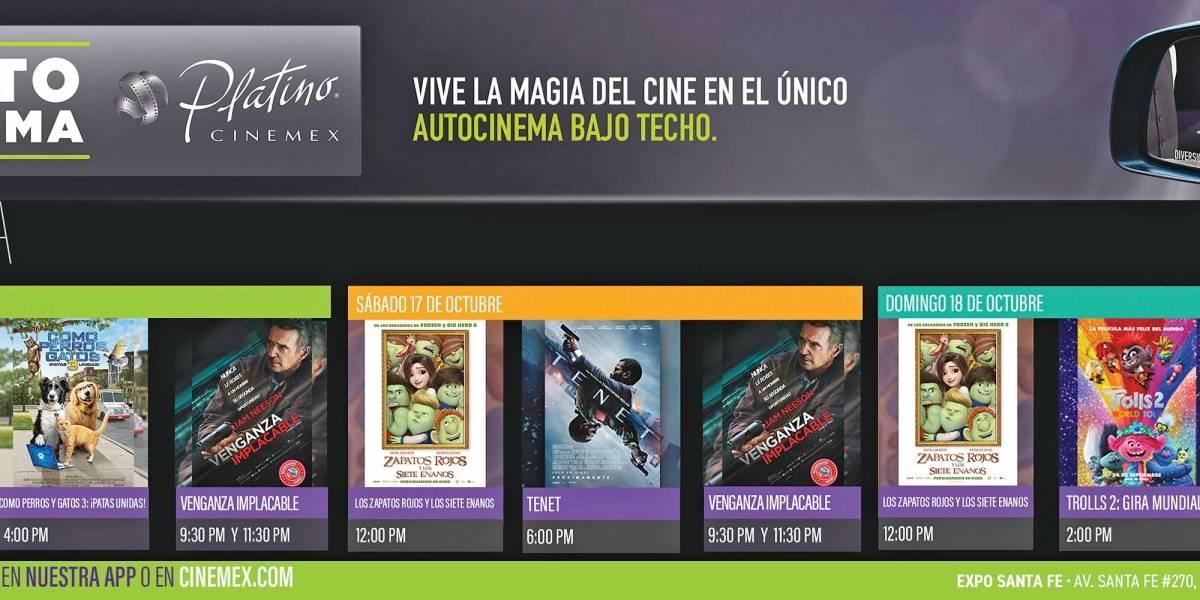 Anuncio Cinemex edición CDMX del 16 de Octubre del 2020, Página 9