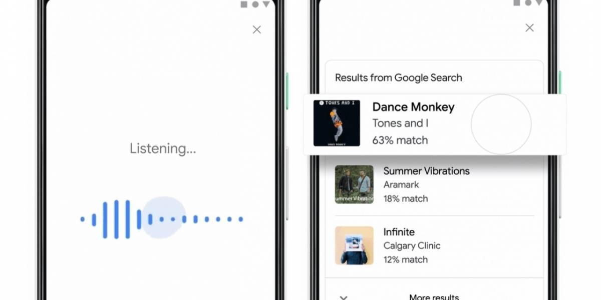 Google ayuda a identificar una canción con solo tararearla