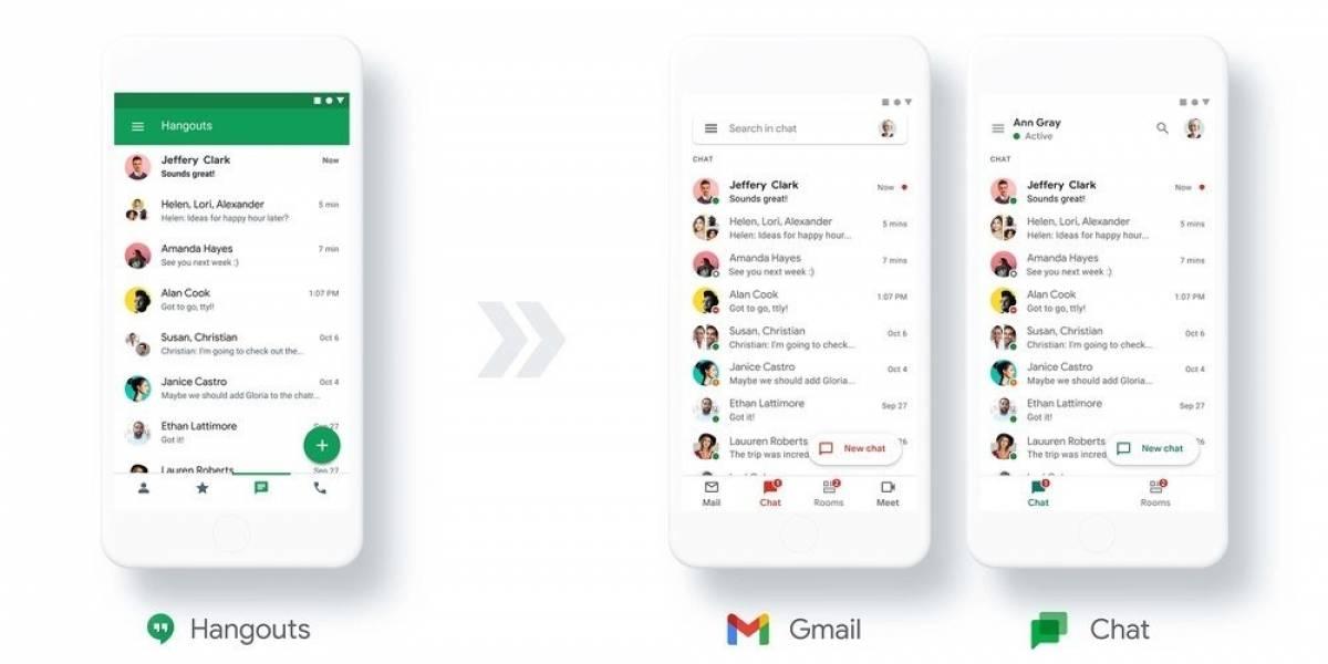 Portaltic.-Google migrará en 2021 los usuarios de Hangouts a Google Chat, que será gratuito para todos