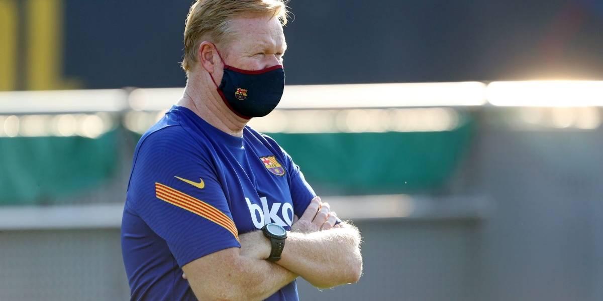 """Fútbol.- Koeman: """"No hace falta discutir de Griezmann, el entrenador manda"""""""