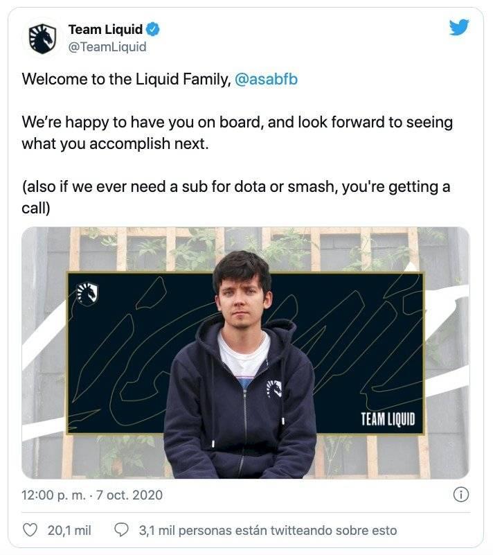 Netflix Asa Butterfield Team Liquid