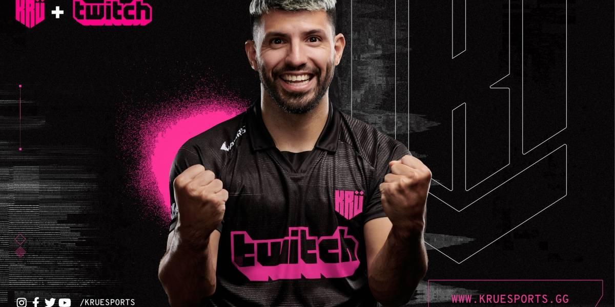 """""""Kun"""" Agüero supera la ficción y crea su equipo de eSports"""
