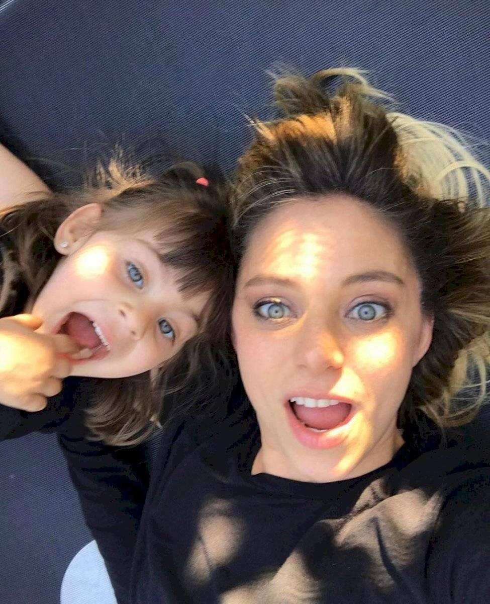 Mariana Derderián e hija