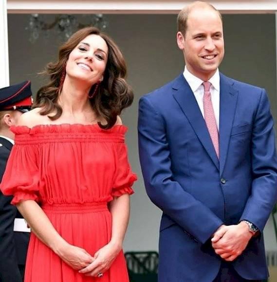 La radiante cabellera de Kate Middleton siempre acapara las miradas de los paparazzis