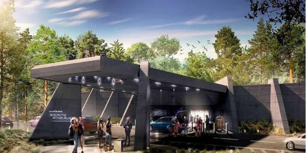 Así va la construcción del hotel de Star Wars en Disney World