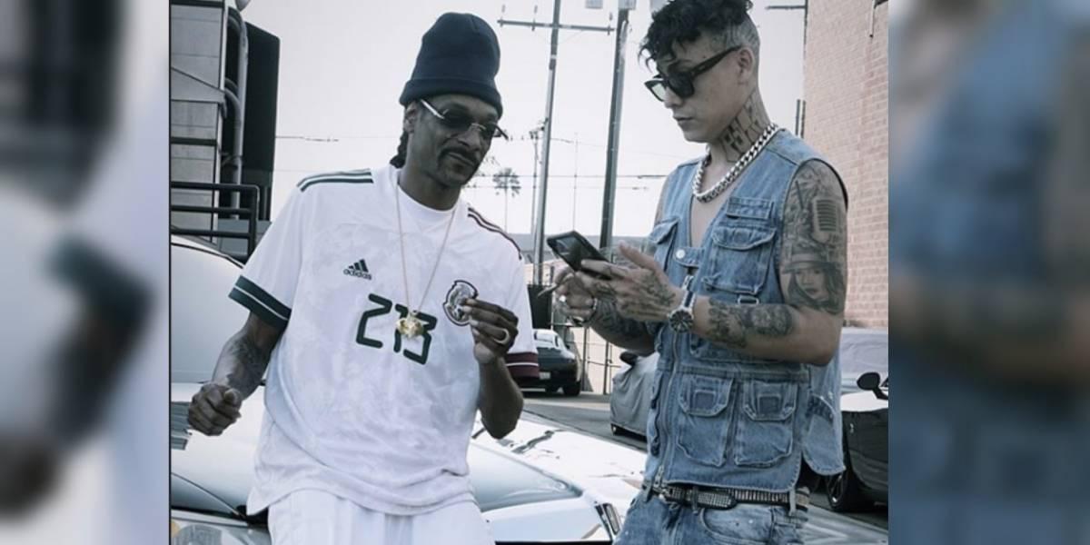 Snoop Dogg presume jersey de la Selección mexicana