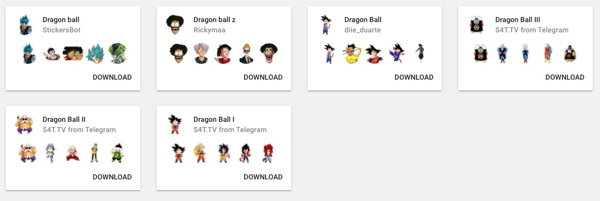 Dragon Ball WhatsApp