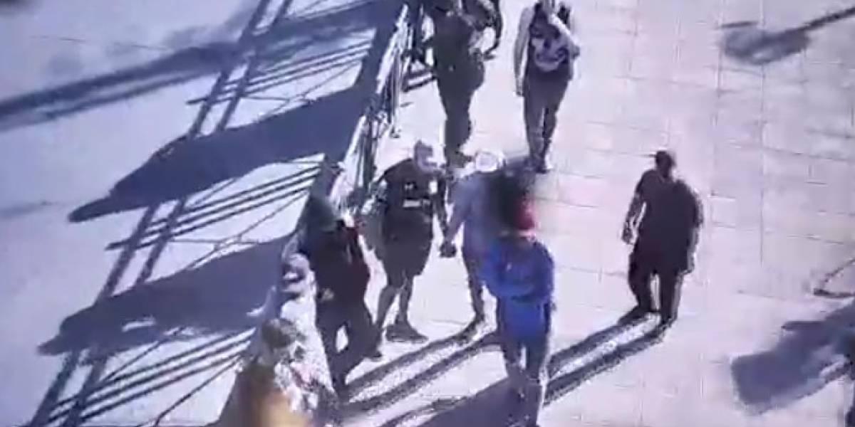 Vandalismo en Temuco: detenidos deberán cumplir arresto y entregar donación en dinero a Bomberos