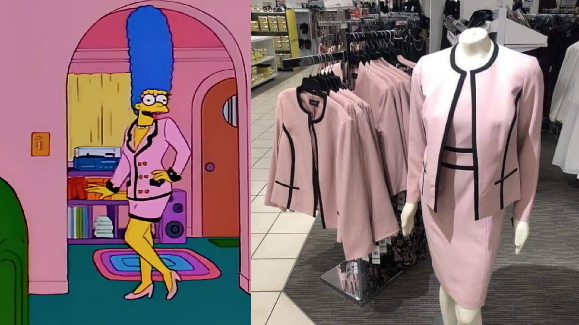 Los Simpson vestido