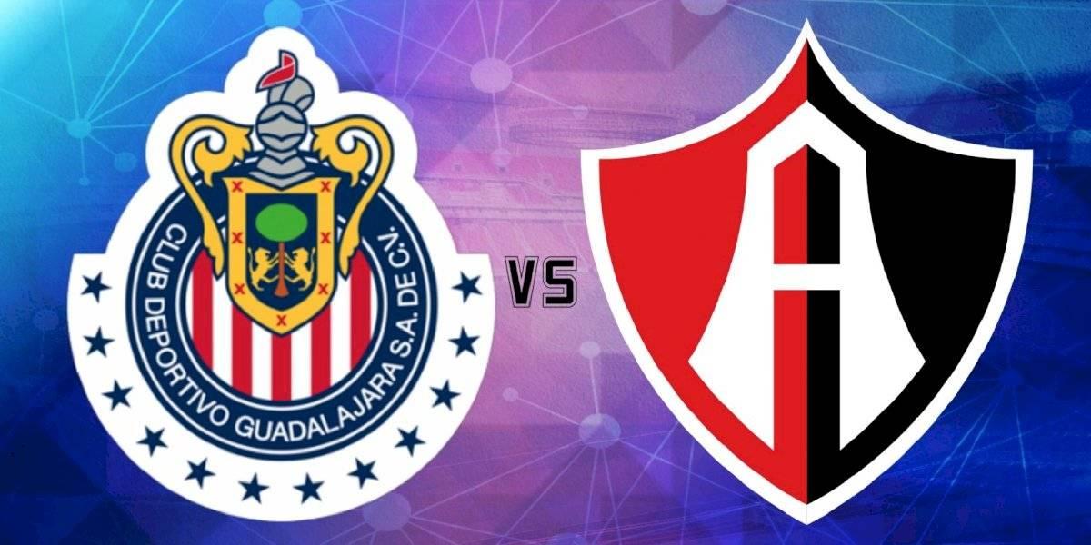 Chivas derrota al Atlas en el Clásico tapatío