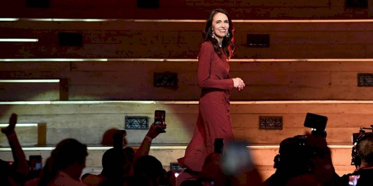 Jacinda Ardern como estrella de rock: ganó la reelección en Nueva Zelanda con histórica votación