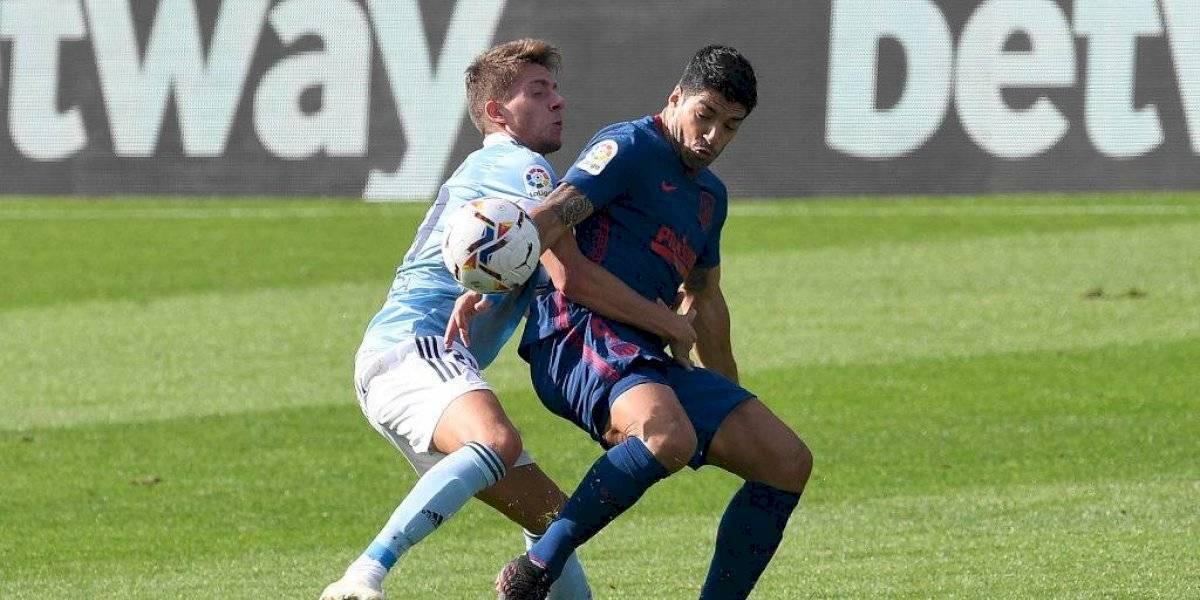 Suárez volvió al Atleti y con un golazo