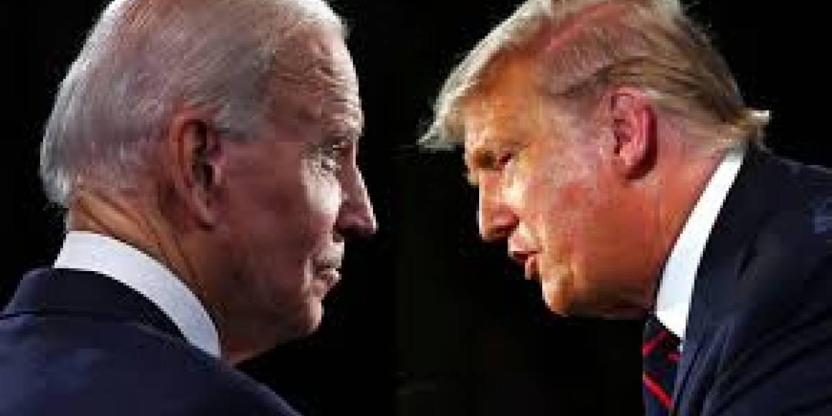 """Trump vuelve a descalificar a Biden: dice que si pierde con el """"peor candidato de la historia"""" se irá de EEUU"""