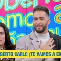 """Conductor Roberto Carlo se despide entre lágrimas de """"Sale el Sol"""""""