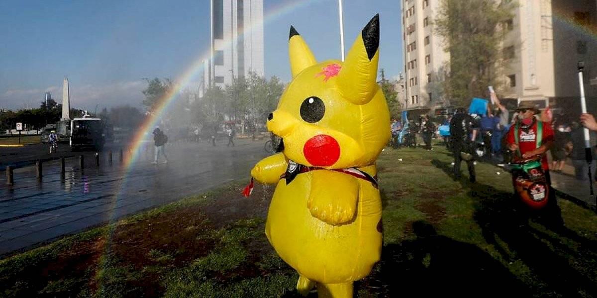 """""""Tía Pikachu"""" piensa en grande: """"Me quiero postular para constituyente"""""""