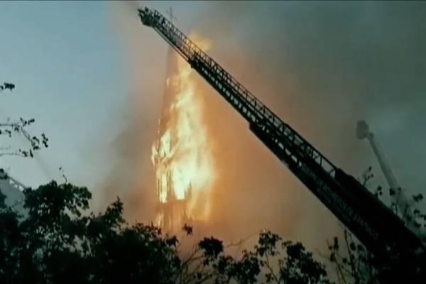 Otra iglesia en llamas: Reportan incendio en la Parroquia de la Asunción