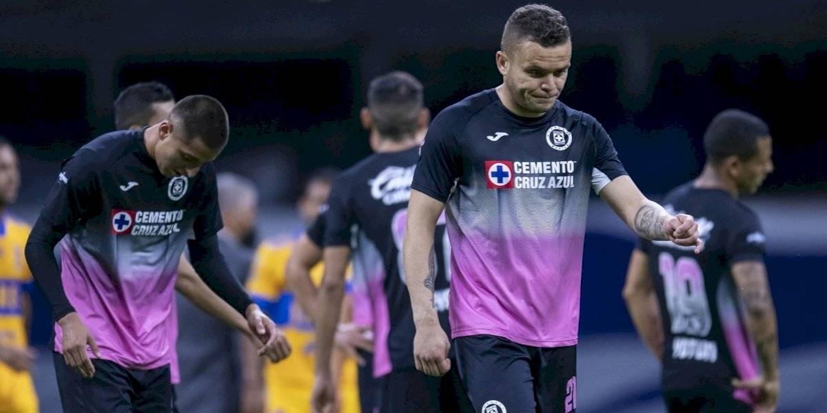 Cruz Azul cae ante Tigres y suma tres partidos sin conocer el triunfo
