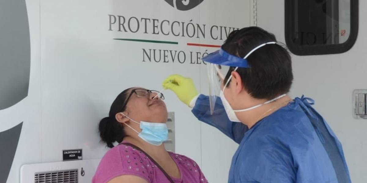 Supera Nuevo León otra vez los 500 contagios diarios