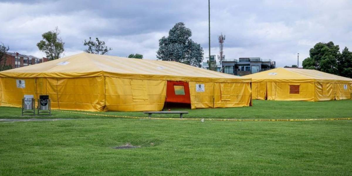 Así fue adaptado el Palacio de los Deportes en Bogotá para la minga indígena