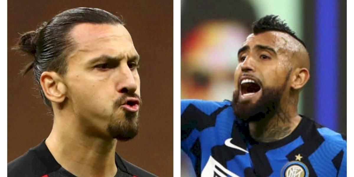 """Zlatan, ¿te olvidaste de Vidal?: """"Milán nunca tuvo un rey, tienen un dios"""""""