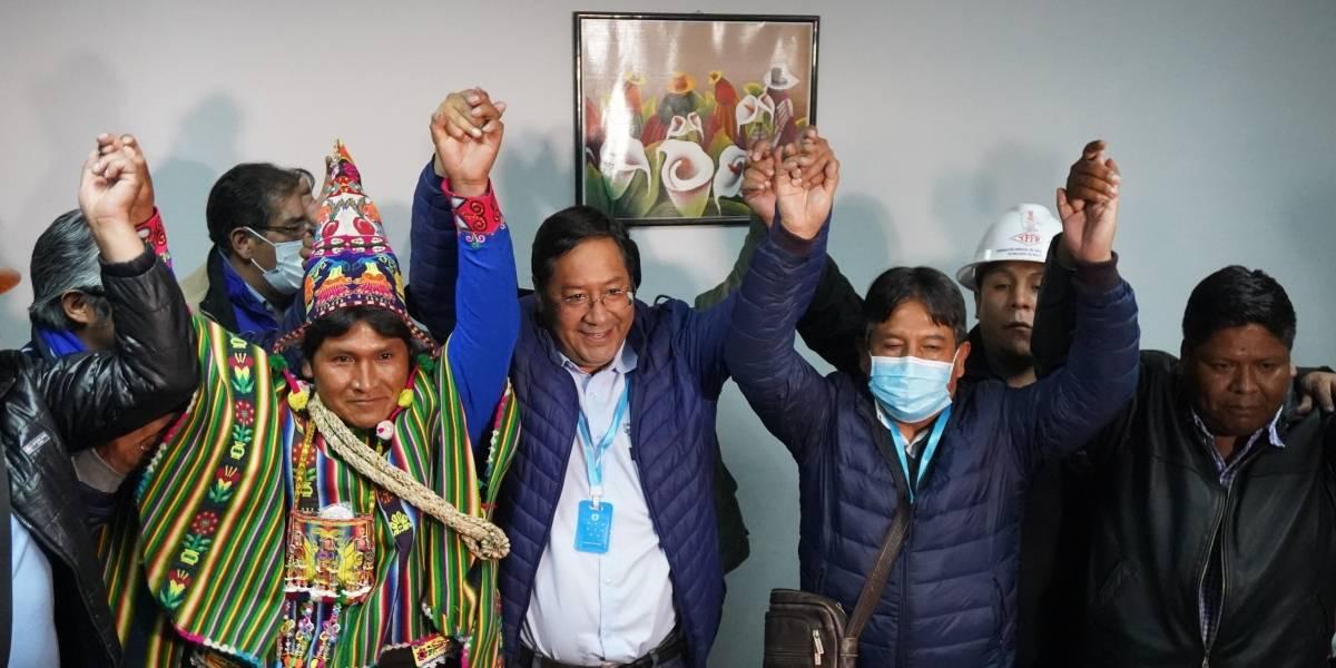 Elecciones en Bolivia: Evo Morales celebra triunfo de Luis Arce a espera de resultados oficiales