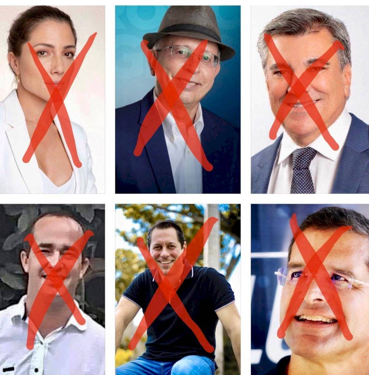 x candidatos