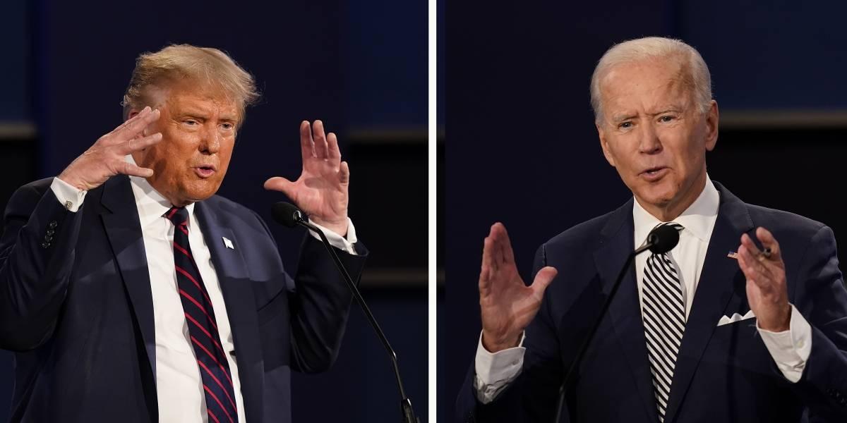 Trump y Biden en lucha intensa en estados indecisos