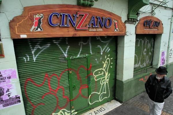 El emblemático Bar Cinzano de Valparaíso cerró sus puertas para siempre
