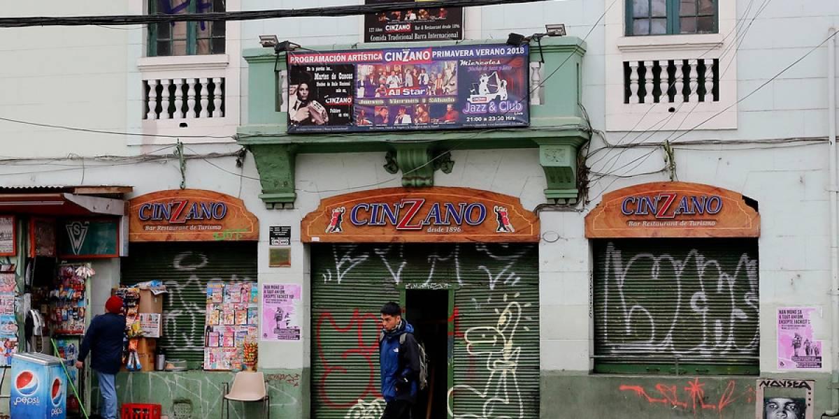 """Jorge Sharp propone un """"fondo de apoyo al comercio local"""" por parte de grandes empresa para salvar al Bar Cinzano"""