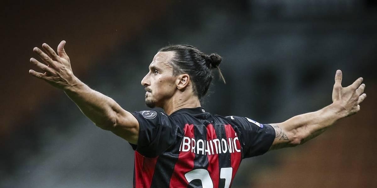 """Ibrahimovic, el """"Dios"""" de 39 años que domina la Serie A"""