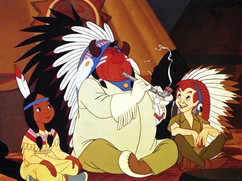 Peter Pan es una de las seis películas clásicas de Disney que cuentan con advertencias por connotaciones racistas.