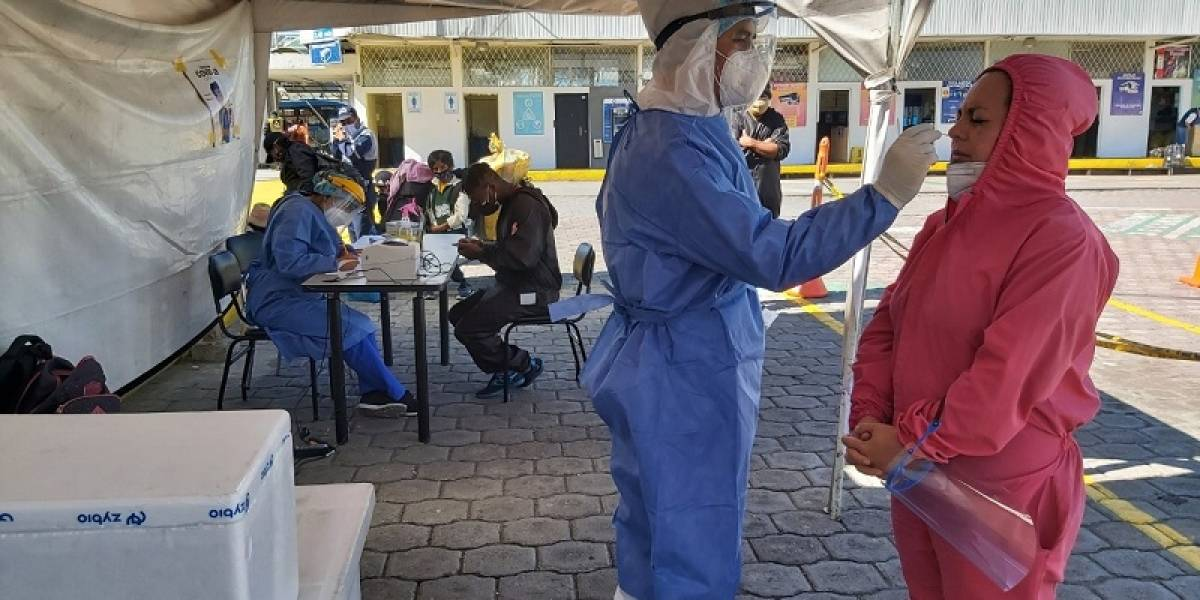 Puntos de atención en 34 barrios donde se realizarán pruebas Covid-19 en Quito