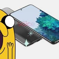 Samsung Galaxy S21 (o Galaxy S30) se deja ver en primeras imágenes y luce raro