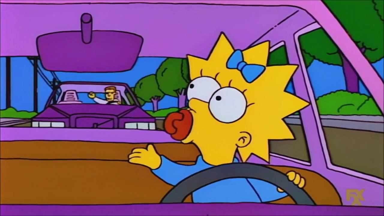 Los Simpson Maggie